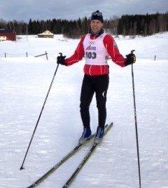 FORNØYD: Tomas Skaugrud sa seg fornøyd med eget løp.